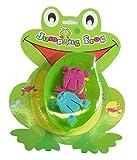 Jumping Frog, Frosch Hüpfspiel, 6 Frösche mit Blatt zum hinein Springen. Frosch Spiel, Froschhüpfspiel, Frösche