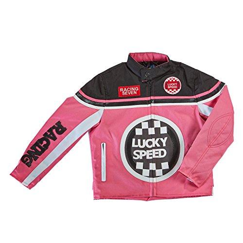 Germas Kinderjacke Lucky Speed (XL, schwarz/pink)