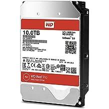 WD Red Pro 10TB interne Festplatte SATA 6Gb/s 128MB interner Speicher (Cache) 8,9cm 3,5Zoll 24x7 5400Rpm, optimiert für NAS Systeme mit bis zu 16 Laufwerkschächten, HDD Bulk WD101KFBX