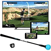PhiGolf WGT Edition Simulador de Juegos de Golf, Unisex Adulto, Blanco, Talla única