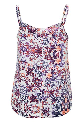 Jacqueline de Yong Damen Top Pleat Singlet Tanktop Top Cloud Dancer/Bright Col