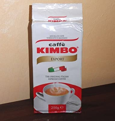Kimbo Espresso Antica Tradizione Export Ground Coffee - 250g Bag by Kimbo