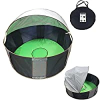 iSafe Pop Up Baby Play Tent Beach & Garden Shade Canopy Enclosure UV Protection