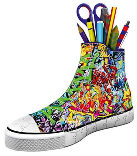 Ravensburger-12535-Sneaker-Graffiti-Style-3D-Puzzle