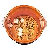 Sexy Fußbad Fass Fußwanne Fußbadewanne Akupunkturpunkte Massage Fußbad Wanne Verdicken Bubble-Becken Fass Haushalt (Farbe : S-1)