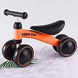 K-G Vélo Enfants Draisienne Trotteur vélo bébé 1-3 Pousser Ans garçons Filles Enfants et Tout-Petits Premier vélo Cadeau d'anniversaire ( Color : Orange )