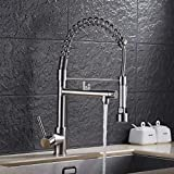 Bidet-Armaturen Küchen- & Badinstallation Kupfer Spülbecken Wasserhahn Dual-Use-Doppel-Auslauf Waschbecken Wasserhahn@D