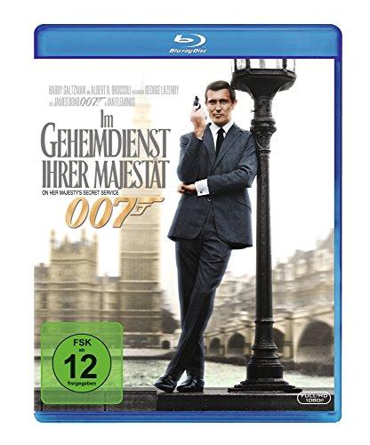 James Bond - Im Geheimdienst ihrer Majestät [Blu-ray] (James Bond Connery)