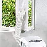 Joint de Fenêtre pour Climatisation Mobiles et déshumidificateurs, Homegoo Airlock pour Fenêtre Universelle avec Longueur Maximale de 400cm