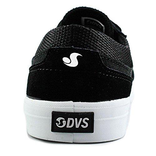 DVS Merced Daim Chaussure de Basket BLK-WHT
