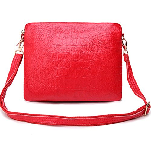 Eysee , Damen Clutch Rot rot 25cm*20cm*1cm rot