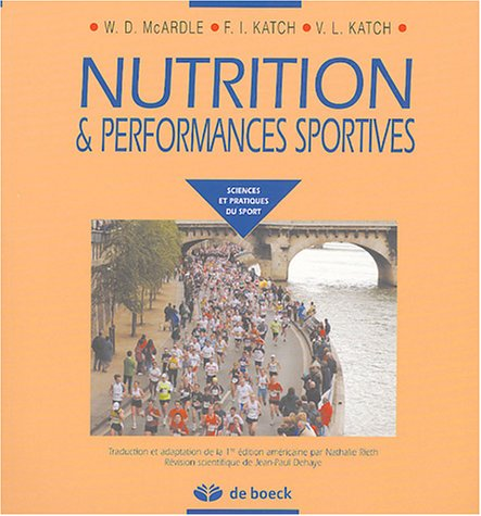 Descargar Libro Nutrition & performances sportives de William McArdle