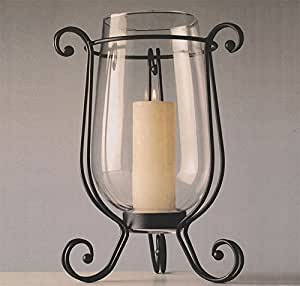 Windlicht / Kerzenhalter Glas - 43cm