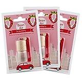 BEAN AIR fresas 3PZ-Ambientador/Ambientador para coche y casa.