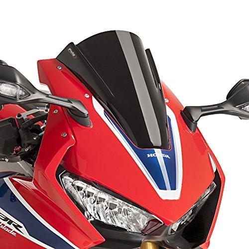 Bulle Racing Honda CBR 1000 RR Fireblade/SP/SP-2 17-19 noir Puig 9407n