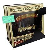 TRENDWERT 2 Stück Vinyl Schallplatten Ständer I Schallplatten Aufbewahrung für 40 LPs pro LP...