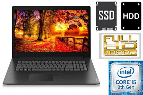 "Lenovo V340-17IWL - Intel Core i5 - 256GB SSD + 1000GB HDD - 16GB DDR4-RAM - CD/DVD Brenner - Windows 10 PRO - 44cm (17.3\"" Full HD IPS TFT)"