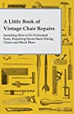 A Little Book of Vintage Chair Repairs - Including How to Fix Perforated Seats, Repairing Spoon Back Dining Chairs and Much More (English Edition)
