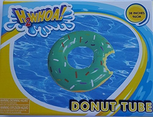H2WHOA! Large Donut Tube Float Green Icing with Sprinkles 38 Inches by Five  Below