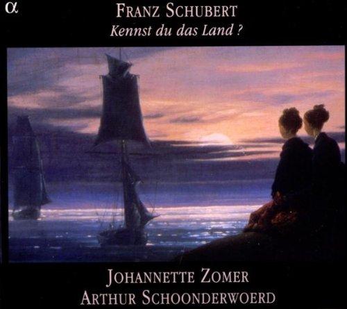 Schubert - Kennst du das land ? - Oeuvres pour pianoforte seul et lieder