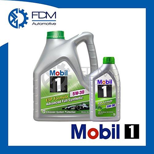 Preisvergleich Produktbild Mobil1 Motoröl ESP-Formel 5W-30 Fully Synthetic 5W30,  5 Liter