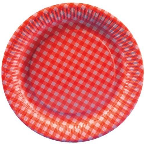 lot-de-20-assiettes-en-carton-rondes-26-cm-rouge-a-carreaux