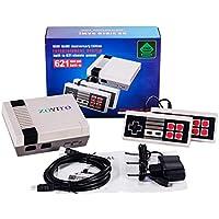 ZOYITO Classic Konsolen Game Player TV Spielekonsole Klassisches Familienspiel Konsolen Berufs Eingebautes 600 Fernsehapparat Videospiel mit Doppelsteuerpulten (HDMI HD Edition Europe Standard )