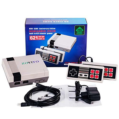 HDMI HD Video Game Mini TV Retro video Game Console Built-in 600 Classic Familyo Games With Dual Controllers