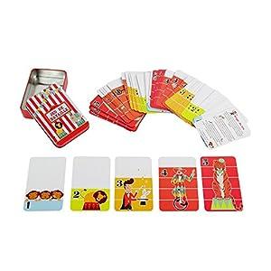 Juegos 2Momes-ea7008-Juegos de 54Tarjetas en Caja de Metal