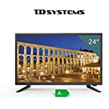 "TV Full HD TDSystems 24"" Pulgadas HD K24DLT6F (Resolución 1920x1080 /HDMI 1/ VGA 1/Eur 1/ USB Reproductor y Grabador) Televisores HD"