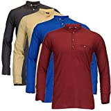 Feed Up Men's Kurtas Pack of 4
