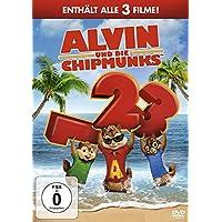 Alvin und die Chipmunks - Teil 1-3 [3 DVDs]
