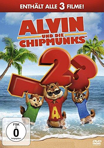 Preisvergleich Produktbild Alvin und die Chipmunks - Teil 1-3 [3 DVDs]