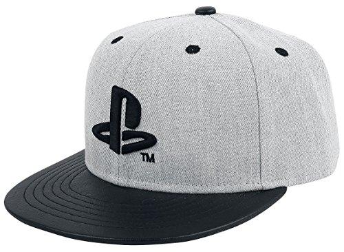 Playstation Logo Snapback-Cap grau/schwarz
