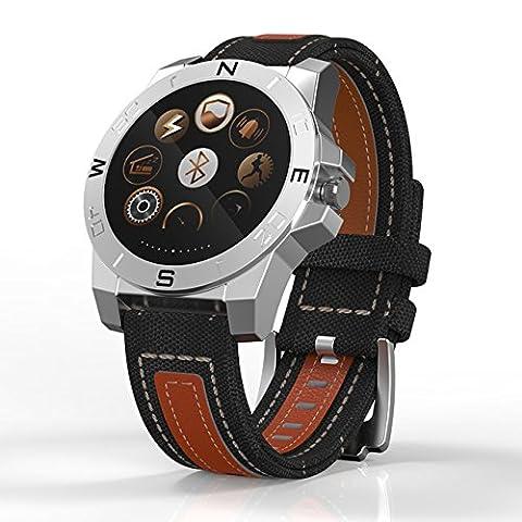 Smart Uhr Android Smartwatch Armbanduhr Smart Watch Whatsapp FäHig Android Damen Lesen IOS Wasserdicht Nicht Austauschbare , Wiederaufladbar, Grün Mit