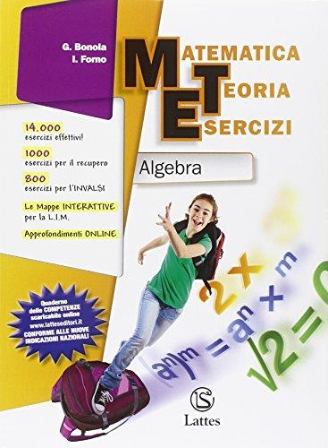 Matematica teoria esercizi. Algebra-Geometria C. Con quaderno INVALSI. Con espansione online. Per la Scuola media