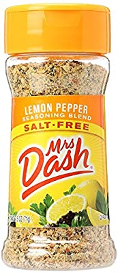 Mrs Dash Lemon Pepper Seasoning Blend (2.5oz) 71g Salt Free by Mrs Dash