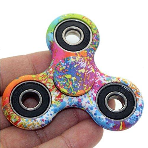 Mini Colorato Fidget Spinner ad Alta Velocità Mano Fidget Toy per Adulti Bambini per Alleviare lo Stress Solaxi