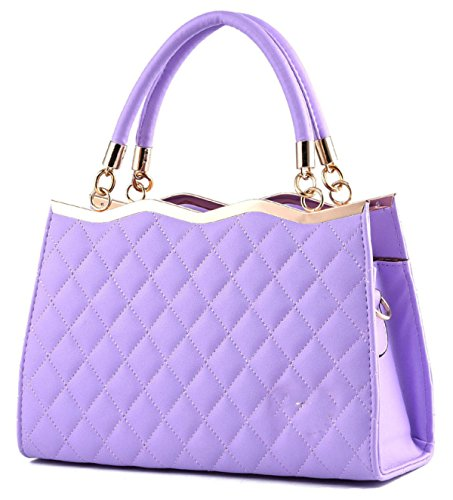 Elegante Fashion Bowknot Tote Ladies ' Purple