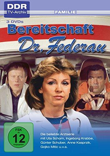 Bereitschaft Dr. Federau (DDR-TV-Archiv) [3 DVDs] (Dvd-tv Und Filme)