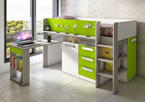 Etagenbett Mit Schrank Und Schreibtisch : ▷ hochbett mit schreibtisch und schrank test vergleich [ oct