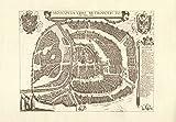 Moskau (um 1618); Faksimile-Stich einer Städteansicht; Druck von 1970, Format ca. 43 x 30 cm. bei Amazon kaufen