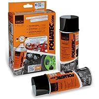 Foliatec 2060 Pellicola Spray, 2 x 400 ml, Nero Opaco
