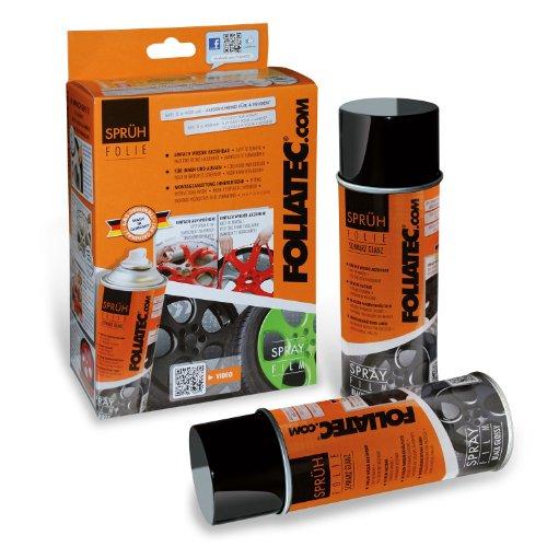 Preisvergleich Produktbild Foliatec 2062 Sprühfolie, Doppelpack, 2x400 ml, Anthrazit