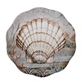 "Certified International Coastal View Round Platter, 13.25"", Multicolor"