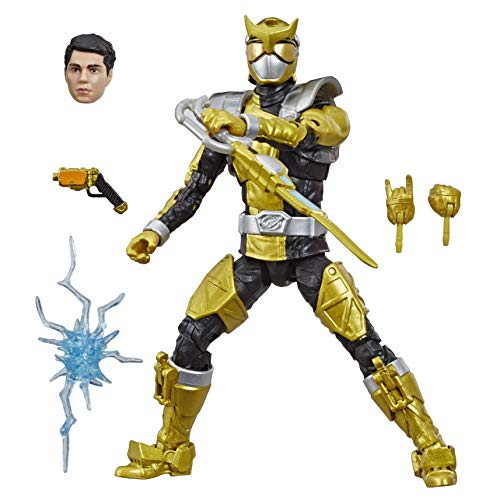 "Hasbro Power Rangers Lightning Collection 6"" Beast Morphers Gold Ranger Action Figure"