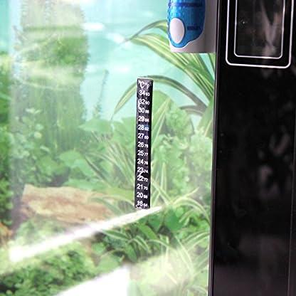 2Pcs Aquarium Fish Tank Temperature Thermometer Sticker 2
