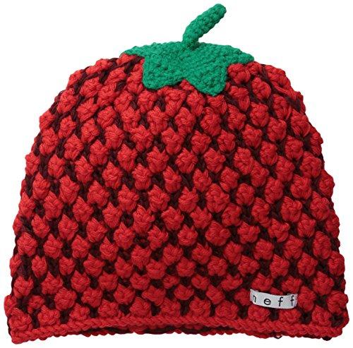 Neff Beanie-Mütze, Erica Women's Mehrfarbig Strawberry One size