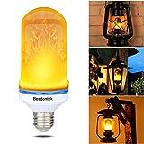 LED Flamme Effet Ampoule Bosdontek E26 Base Scintillante Lampe Simulé Feu Décoratif Atmosphère Luminaire Vintage Flaming pour Led Ampoules Bar Festival Maison Partie De Mariage Décoration Warmwhite 8W AC 85-265V