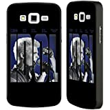 Official Billy Idol Hold Me Designs Black Aluminium Bumper Slider Case for Samsung Galaxy Grand 2